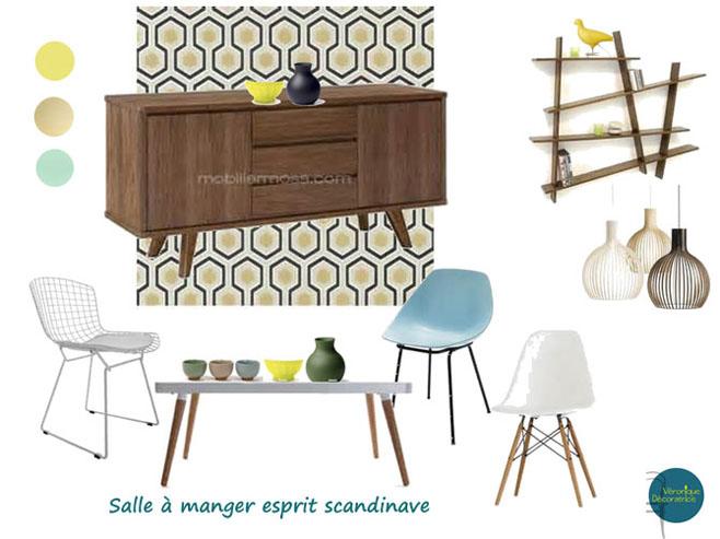 salle manger esprit scandinave 2 decovero. Black Bedroom Furniture Sets. Home Design Ideas