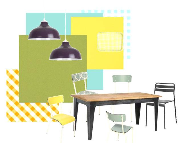 exemple planche tendance decoration planche cuisine decovero. Black Bedroom Furniture Sets. Home Design Ideas