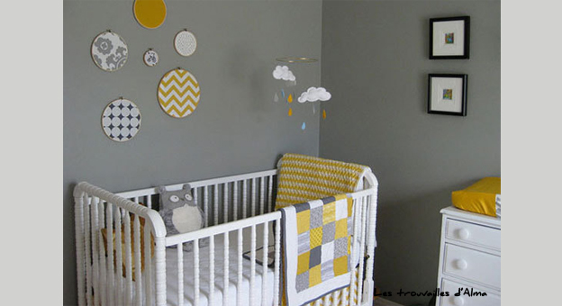 Le jaune illumine votre int rieur decovero for Chambre bebe jaune moutarde