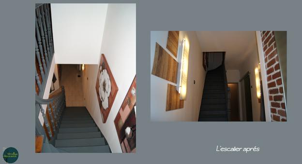 l'escalier aprés